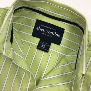 Men's Abercrombie dress shirt EUC size XL